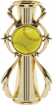 color sport trophy riser softball in barbed wreath trophy riser # 2455-G